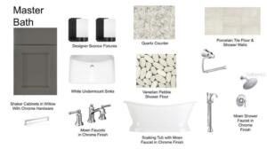 Lot 2 Master Bath Selections